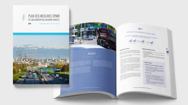 Vaud DGE - Plan Opair de l'agglomération Lausanne-Morges