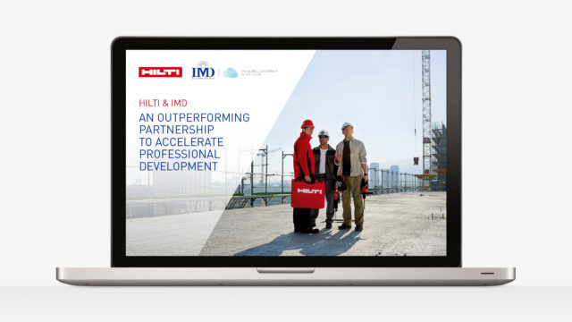 IMD edition interactive Hilti