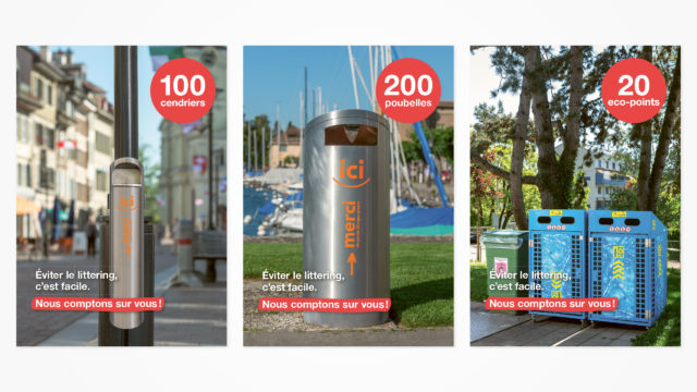 Morges - Campagne Anti-littering