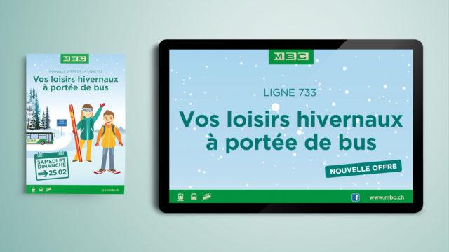 MBC – Campagne pour la ligne 733